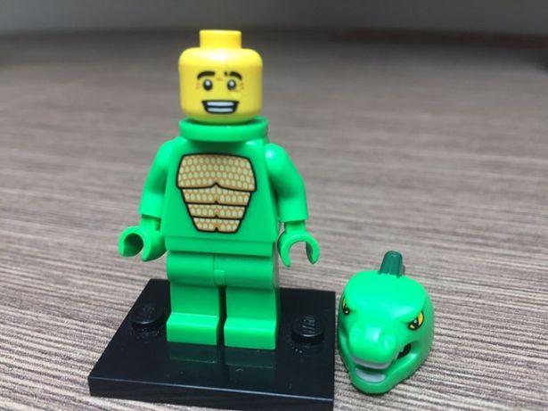Lego minifigures Jaszczur lizard guy UNIKAT