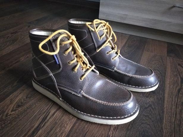 Buty wysokie jesień zima męskie rozm. 44 wkładka 28,5cm