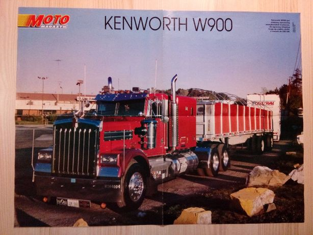 Plakat Poster Kenworth W900/Ghia Saetta 41cm x 54,5cm Auto Cars Trucks