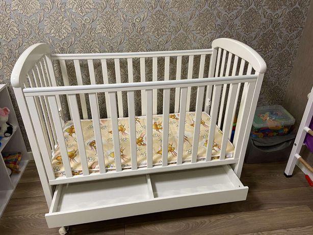 ПОЛНЫЙ КОМПЛЕКТ!Кроватка, детская кроватка Верес, люлька Верес