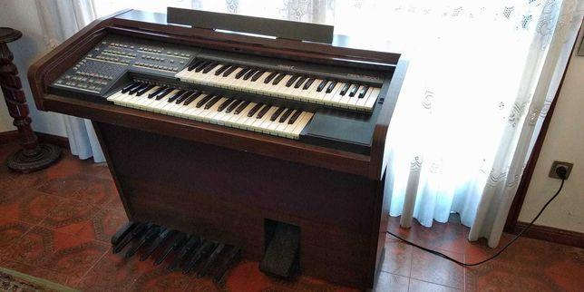 Orgão Móvel Dois Teclados Viscount RBX 3000