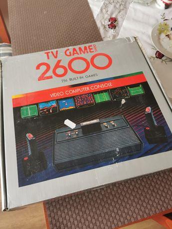 Atari 2600 rambo kompletne z dwoma dzojami