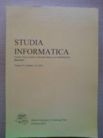 książka Studia informatica