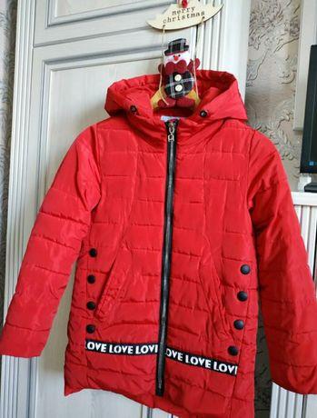 Куртка демисезон 146р