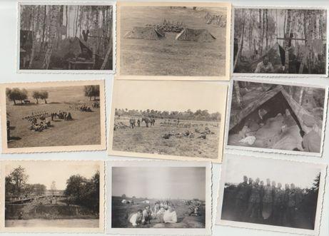 Stare zdjęcia strzelcy górscy Wehrmacht