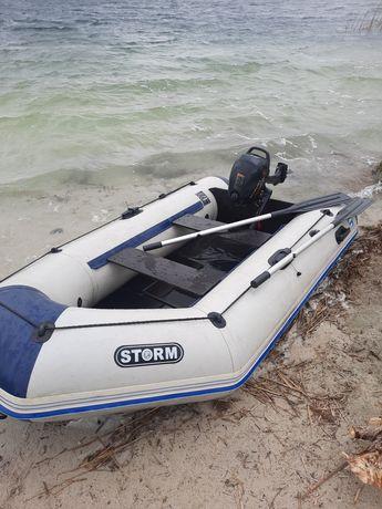 Storm  лодка  suzuki  2.5
