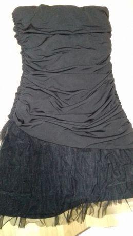 Красивое платье без бритель
