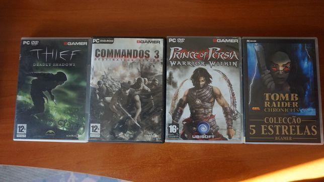 Jogos de PC - BGamer - Thief, Tomb Raider, Prince of Persia, Commandos