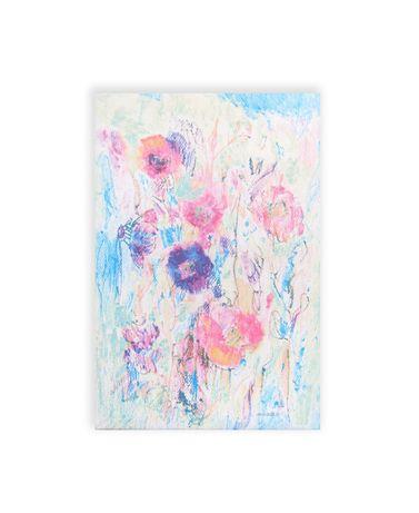 ładny obraz nowoczesny, obraz do sypialni, kwiaty obraz na płótnie can
