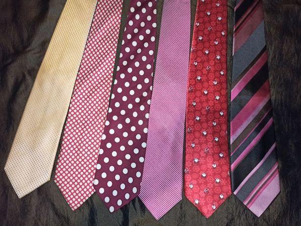 Много галстуков дорогих брендов (натуральный шелк)