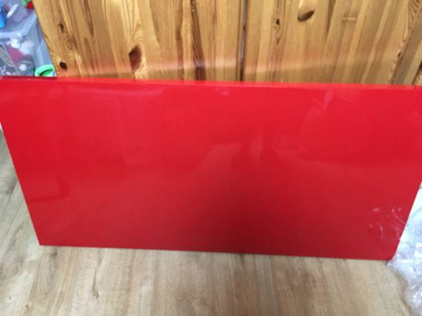 Blat biurka vika amon ikea 120x60 dzieci biurko czerwony