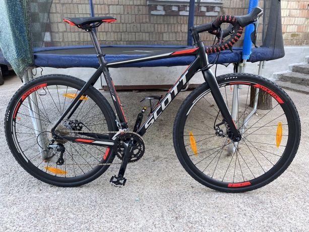 Циклокроссовый велосипед Scott Speedster CX 20 disc 2017 описание: Ист
