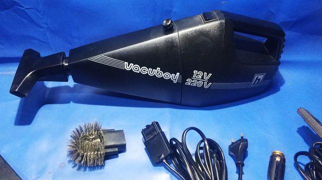 Poręczny odkurzacz na 12V i 230V