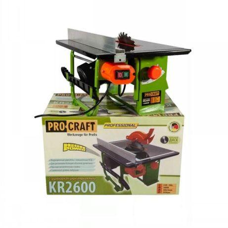 Пила дисковая стационарная(циркулярка)ProCraft KR2600