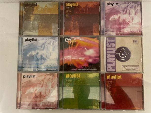 9 CD Compilação Playlist