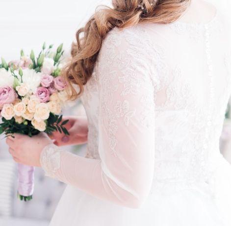 Свадебное платье 48-52