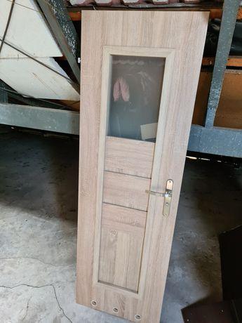 Drzwi Łazienkowe 60 lewe Sonoma Dąb Stan Bardzo Dobry