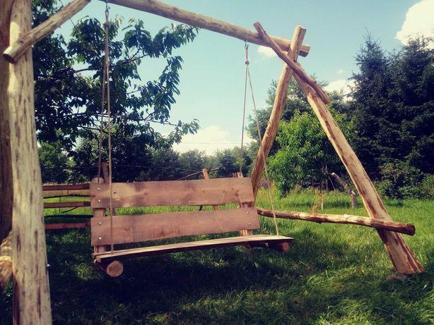 Hustawka drewniana na wymiar  hamaki(stelaż hamakowy)