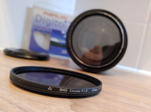 Nikon nikkor 18-105. Dwa filtry marumi