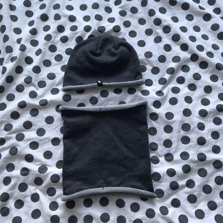 Komplet wiosenny Reserved czapka plus komin jak nowe!