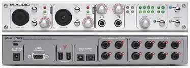 Interface Audio Firewire M-Audio 1814