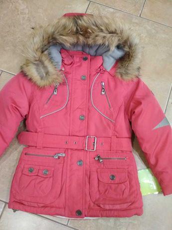 Куртка на девочку .Зима.