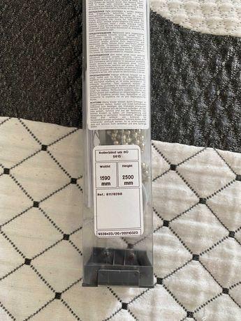 Estore de rolo opaco 159x250 - cinza