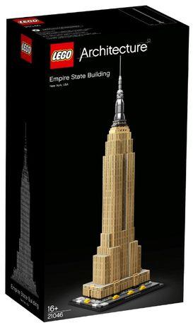Lego Architecture Эмпайр-стейт-билдинг 21046