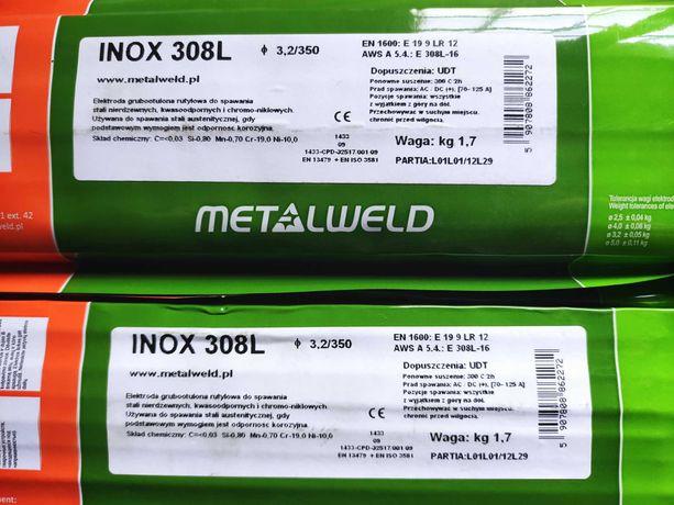 Elektrody do stali nierdzewnej INOX 308L