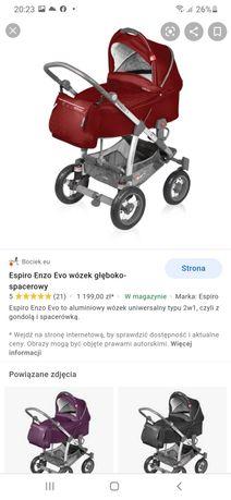 Wózek espiro Enzo Evo 2 w 1