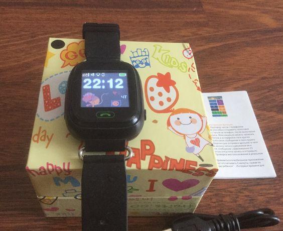 Детские умные Смарт-часы с GPS трекером - Q90