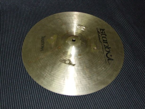 Pratos de Choque Istanbul Mehmet Traditional 14'' Medium Hi-Hat Cymbal