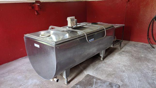 Schładzalnik chłodnia zbiornik do mleka 1060 L wannowy Alima
