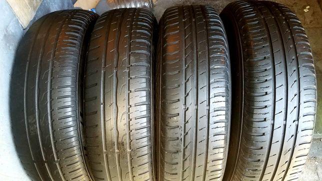 Летние шины Continental 175/80/14 комплект 4-5 мм . 185/195/60/65/70