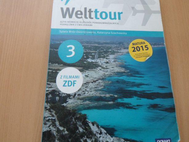 Welttour 3 - j. niemiecki dla liceum i technikum.