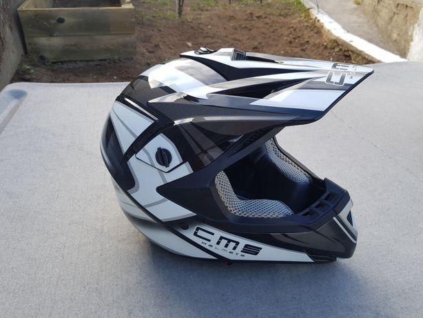 Capacete motocross CMS   XL