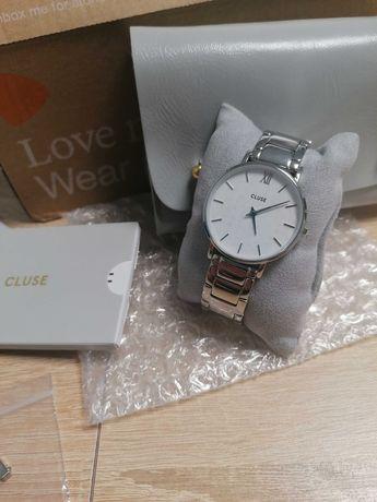 Zegarek damski Cluse Minuit srebrny