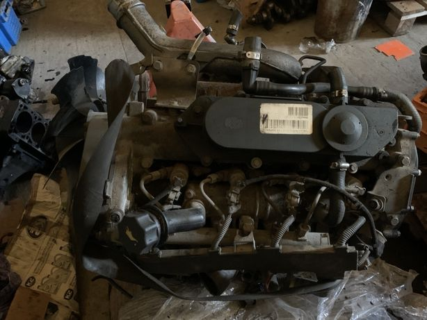 Мотор івеко 2.2 хпі фіат форсунки тнвд гур муфта маховик головка блок