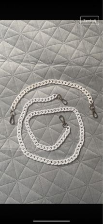 Akrylowy pasek łańcuszek długi crossbody na ramię i do