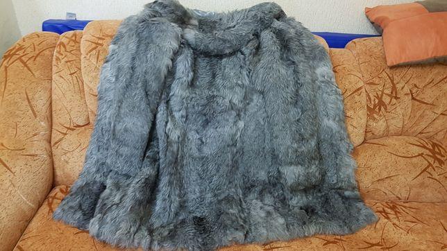 Продам теплу шубку козенятка 46 розміру. Стан дуже хороший!
