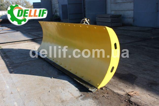 Усиленный Отвал снегоуборочный на трактор Т 150, ХТЗ Dellif 3000-6