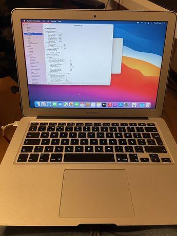 Macbook air 2013 i7 8gb ram 250gbs ssd