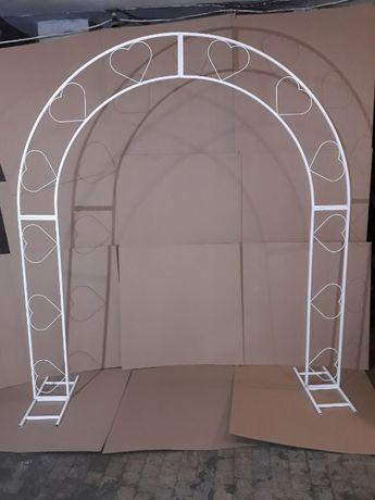 Эксклюзивная кованная арка для цветов/сада/свадьбы/фотозоны/царемонии