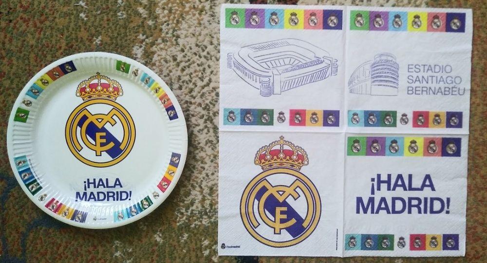 FC Real Madrid plakaty + dodatki kibica zestaw Legnica - image 1