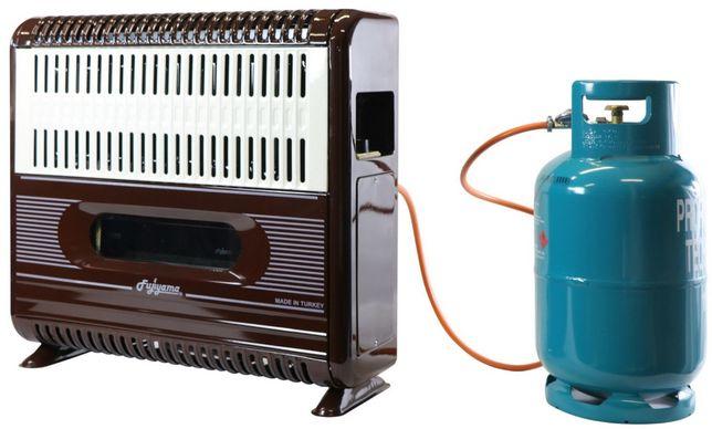 Ogrzewacz gazowy 9,3 kW FHS +wentylator nagrzewnica piecyk konwektor