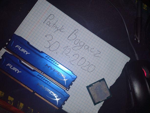 Zasilacz Corsair 550, Płyta główna, procesory, pamięć ram