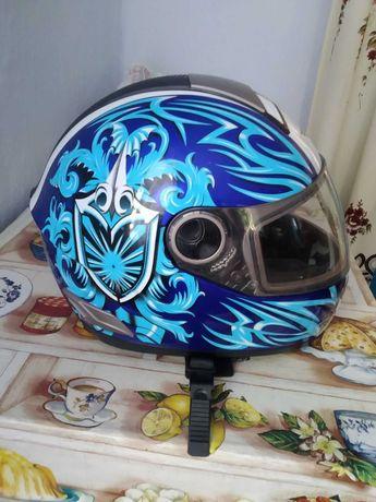 Шлем для мотоцикла б/у в идеальном состоянии. Как новый.
