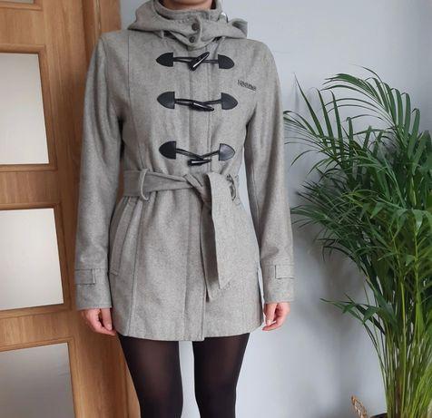 Szary płaszcz Zimowy M