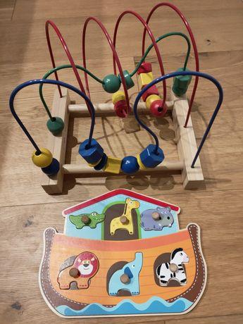 Zabawki różne dla dziecka 0-18 m-cy