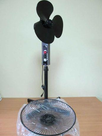 Напольный вентилятор West HS-16 черного цвета новый